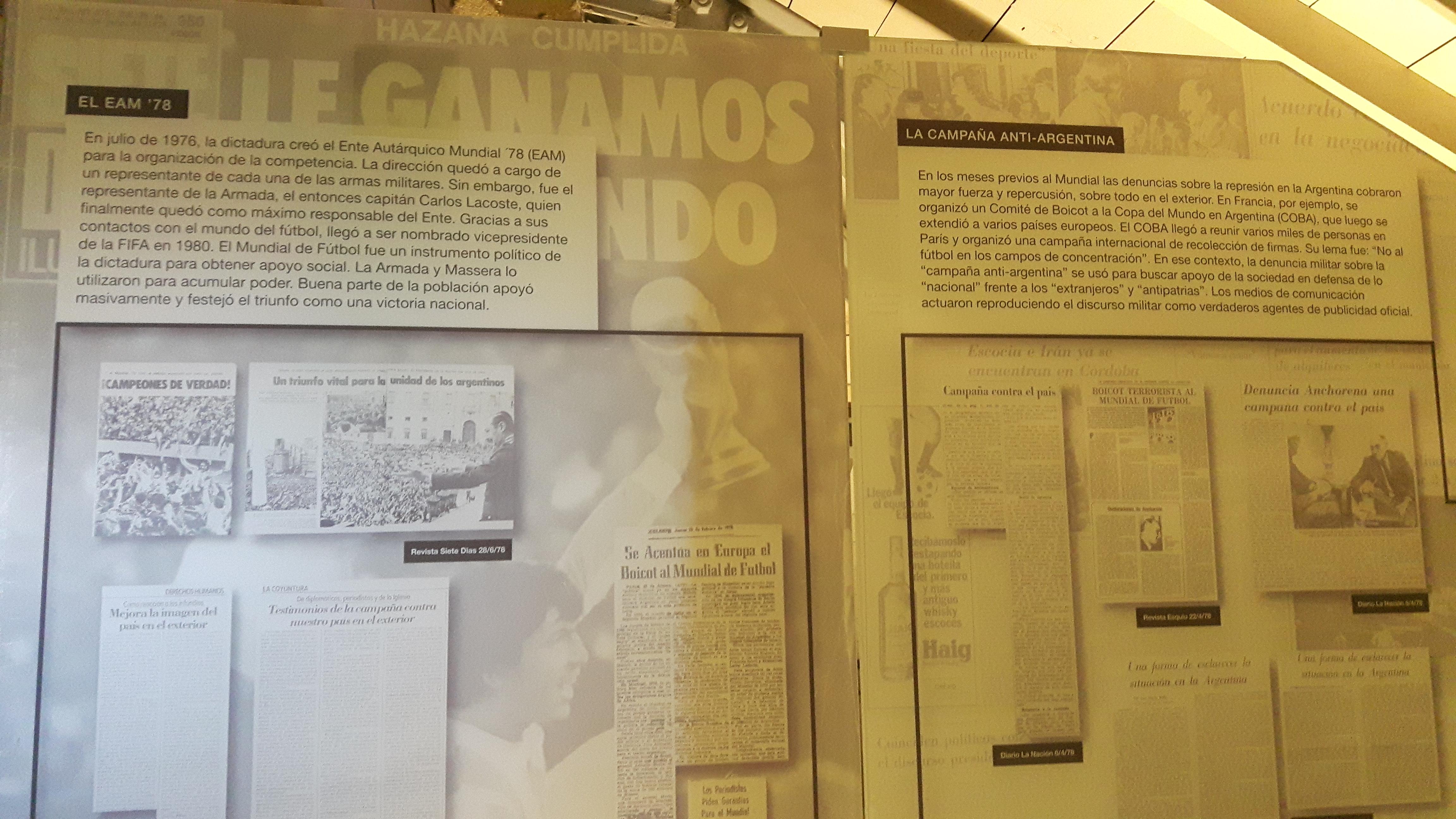 1978 Argentinië | Om nooit te vergeten